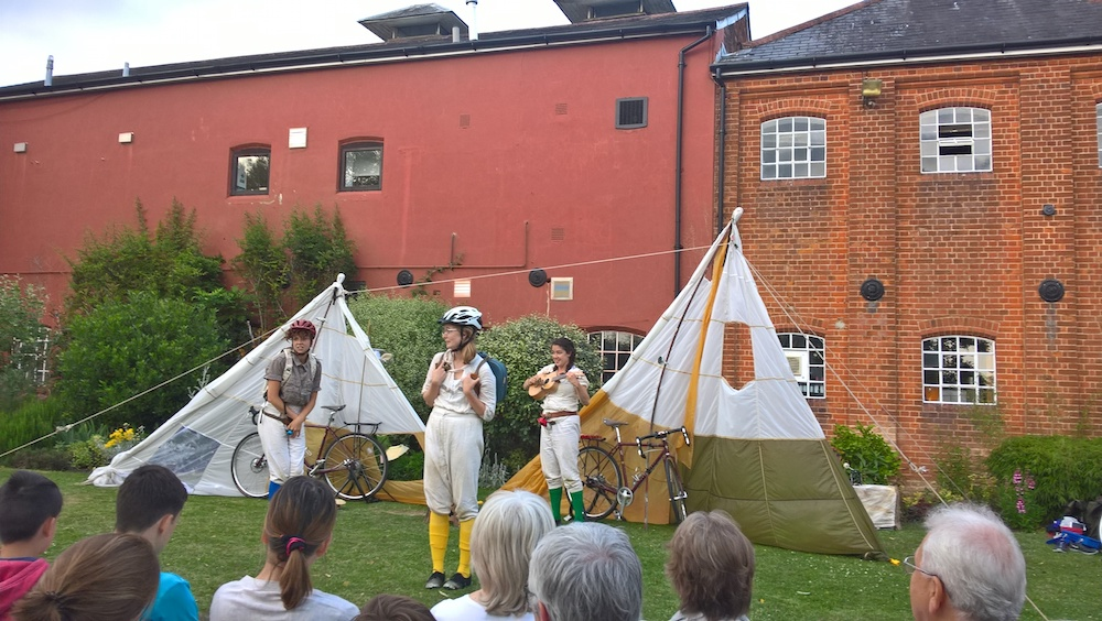 Cycle Bards at Farnham Maltings