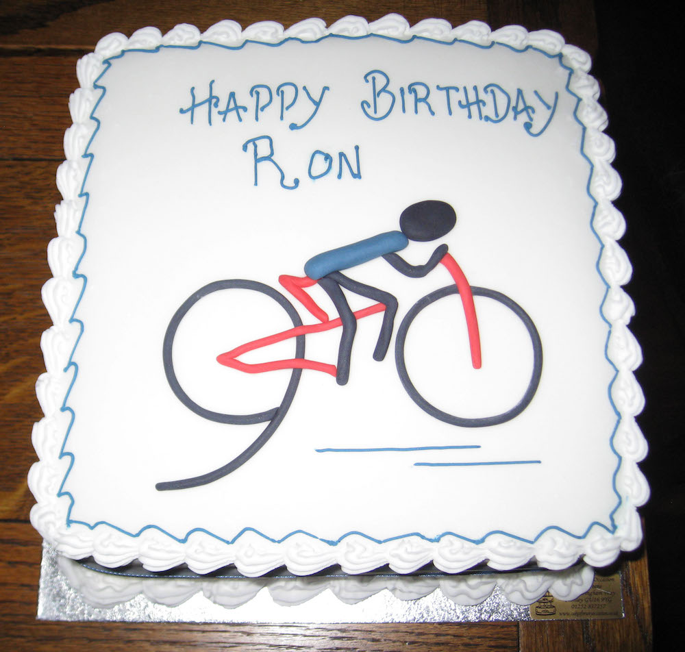 Ron's cake (A)